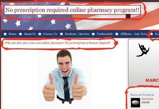 Legitscript fake pharmacy website