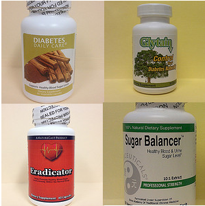 Fake Diabetes Supplements