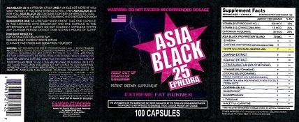Asia Black 9