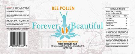 Forver Besutiful bee pollen