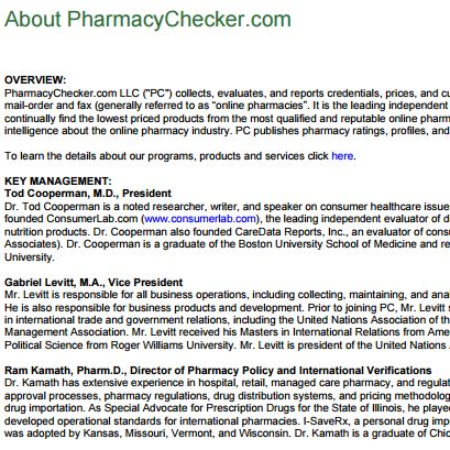 PharmacyChecker.com Director named in CanadaDrugs.com indictment
