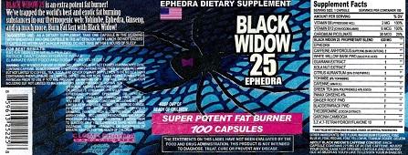 Black Widow 25 11