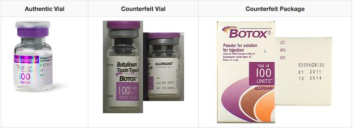Counterfeit Botox FDA