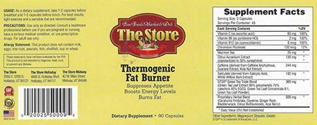 Thermogenic Fat Burner 6